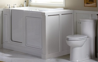 walk-in bath tubs